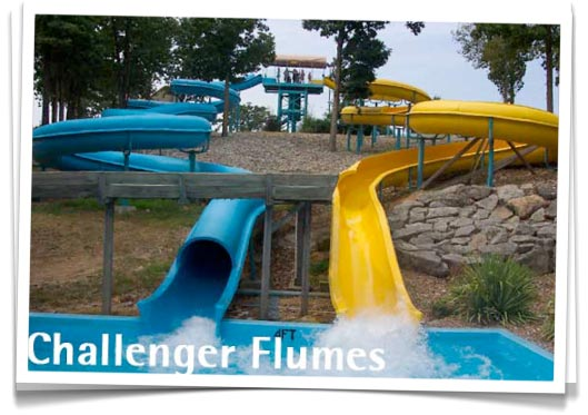 Challenger Flumes